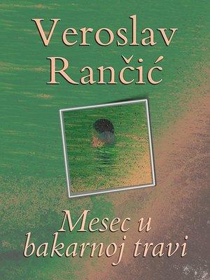 cover image of Mesec u bakarnoj travi