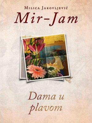 cover image of Dama u plavom