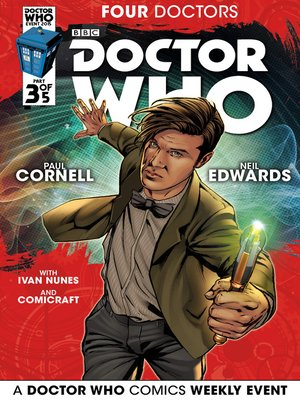 cover image of Doctor Who: Four Doctors (2015), Issue 3