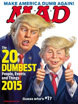 cover image of MAD Magazine #537