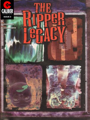 cover image of The Ripper Legacy, Issue 3
