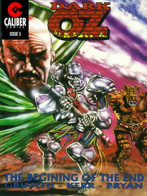 cover image of OZ: Dark OZ, Issue 5