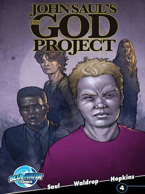 cover image of John Saul's The God Project, Issue 4