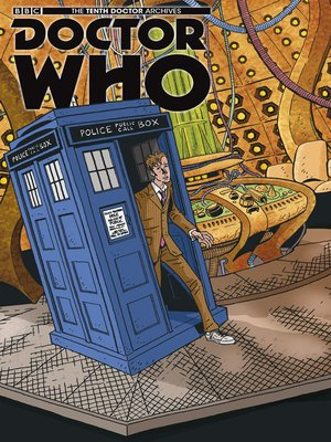 cover image of Doctor Who: The Tenth Doctor Archives (2015), Issue 25