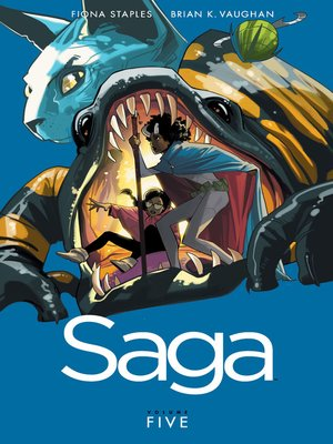 cover image of Saga, Volume 5