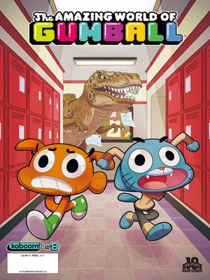 cover image of The Amazing World of Gumball, Issue 8