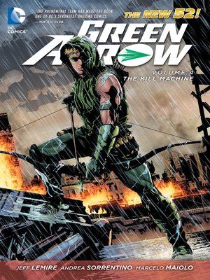 cover image of Green Arrow (2011), Volume 4