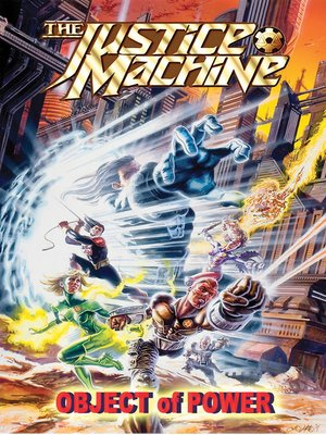 cover image of The Justice Machine