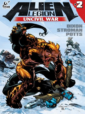 cover image of Alien Legion: Uncivil War, Issue 2