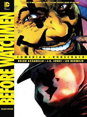 cover image of Before Watchmen (2012): Comedian/Rorschach