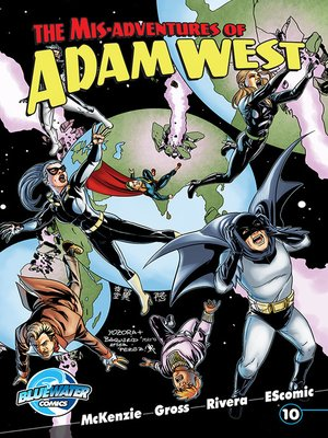 cover image of The Misadventures of Adam West, Volume 2, Issue 10