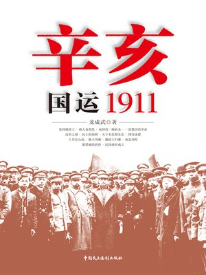 cover image of 辛亥:国运1911