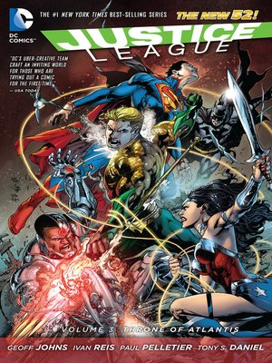 cover image of Justice League, Volume 3
