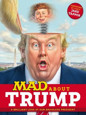cover image of MAD About Trump