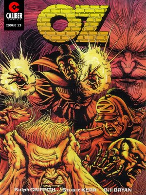 cover image of OZ, Issue 13