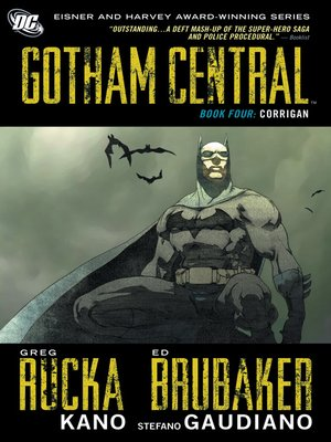 cover image of Gotham Central, Book 4