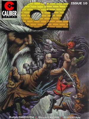 cover image of OZ, Issue 10