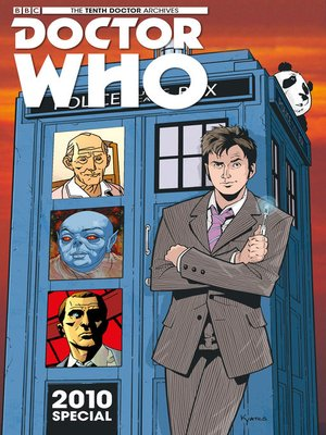 cover image of Doctor Who: The Tenth Doctor Archives (2015), Issue 35