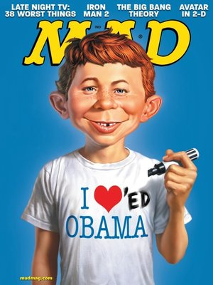 cover image of MAD Magazine #503
