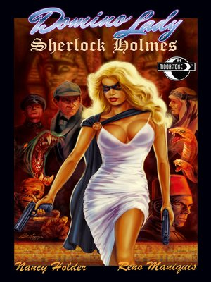 cover image of Domino Lady & Sherlock Holmes, Issue 1