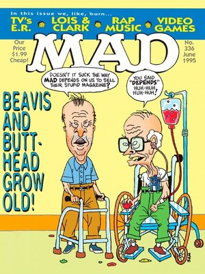 cover image of MAD Magazine #336