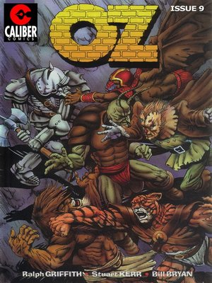 cover image of OZ, Issue 9