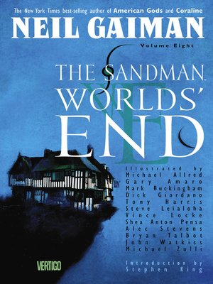 cover image of The Sandman: Worlds' End