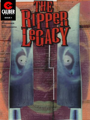 cover image of The Ripper Legacy, Issue 1