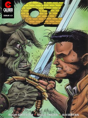 cover image of OZ, Issue 12