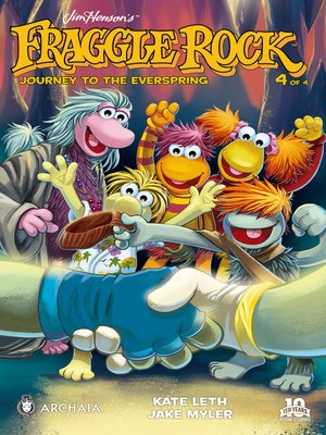 cover image of Fraggle Rock: Journey to the Everspring (2014), Issue 4