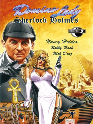 cover image of Domino Lady & Sherlock Holmes, Issue 2