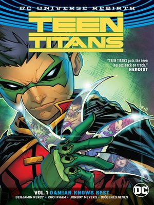cover image of Teen Titans, Volume 1