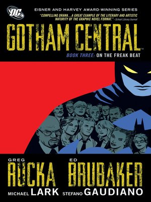 cover image of Gotham Central, Book 3