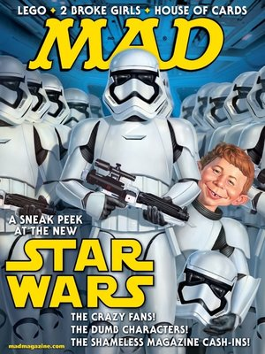 cover image of MAD Magazine #532