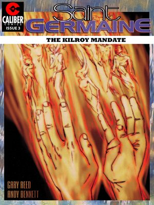 cover image of Saint Germaine: The Kilroy Mandate, Issue 3