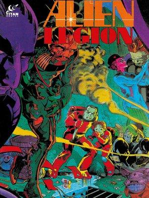 cover image of Alien Legion (1984), Issue 38