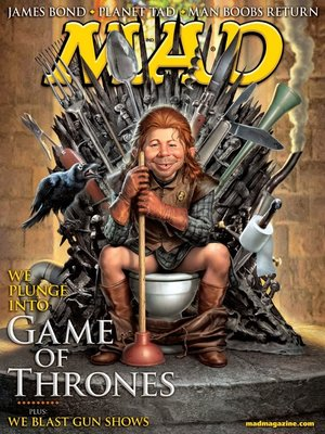 cover image of MAD Magazine #521