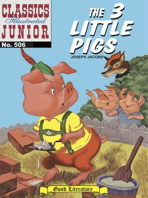 cover image of The 3 Little Pigs