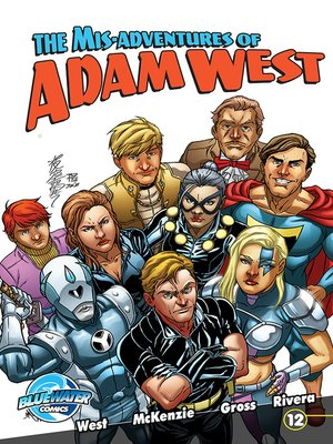 cover image of The Misadventures of Adam West, Volume 2, Issue 12