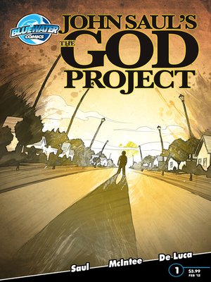 cover image of John Saul's The God Project, Issue 1