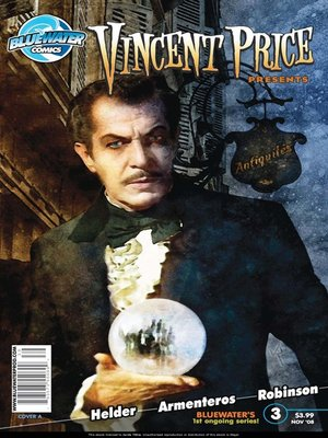 cover image of Vincent Price Presents, Issue 3