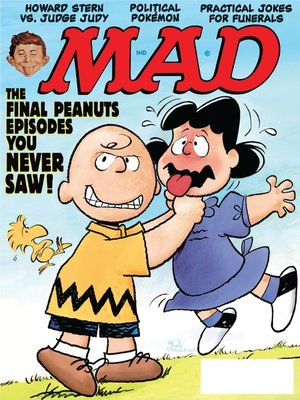 cover image of MAD Magazine #393