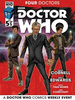 cover image of Doctor Who: Four Doctors (2015), Issue 5