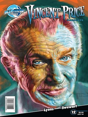cover image of Vincent Price Presents, Issue 12