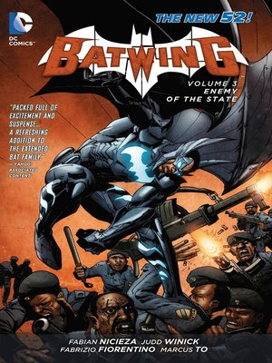 cover image of Batwing (2011), Volume 3