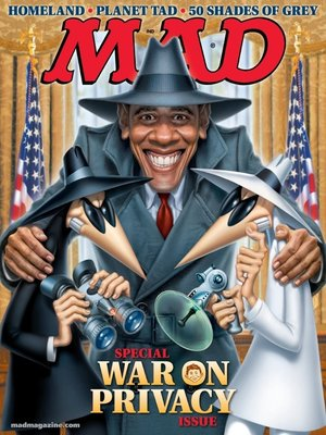 cover image of MAD Magazine #523