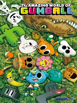 cover image of The Amazing World of Gumball, Issue 4