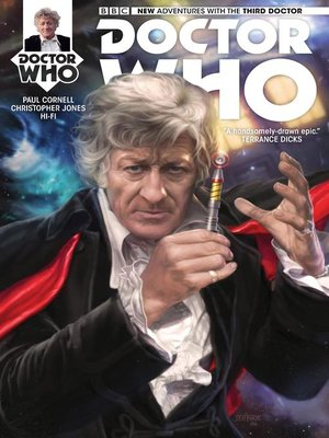 cover image of Doctor Who: The Third Doctor (2016), Issue 1