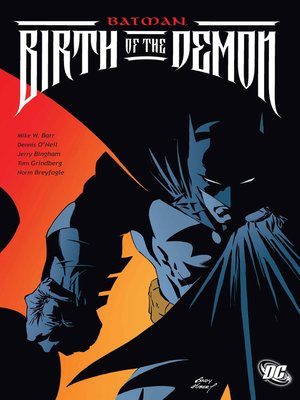 cover image of Batman: Birth of the Demon