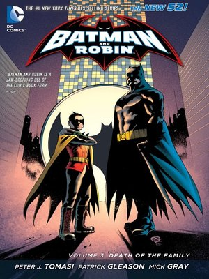 cover image of Batman and Robin (2011), Volume 3